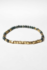 Merchant Gold and Bloodstone Bracelet