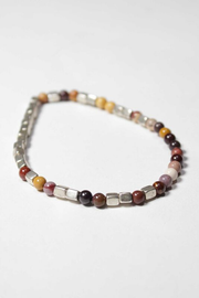 Merchant Silver and Mookaite Bracelet