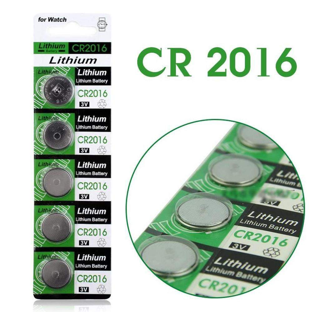 5 x 3V Lithium Coin Cells Button Battery