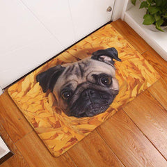 Best Seller Floor Mats with funny dog face