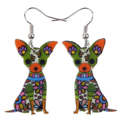 Chihuahua Dog Earrings