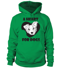 Hoodie: A heart for dogs