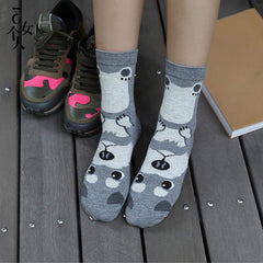 Lovely dogs Socks - Korean style Fashion