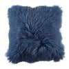 Fur Cushion - Navy, Sand & Dusty Pink | Kesem Boy