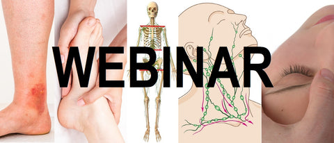 12 CE Hour Lymphatic Drainage Basics & Lymphatic Facial May 22 & 23, 2021 Live Interactive Webinar