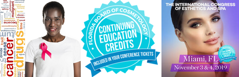 1 CE - A Lesson in Oncology Concerns FREE with Your International Congress of Esthetics Spa Show Ticket!