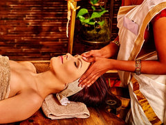 6 CE Ayurveda Foot, Face & Head Massage $95