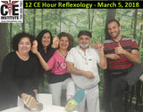 12 CE Hour Reflexology: Foot, Hand & Ear $185