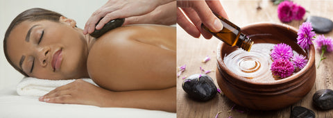 12 CE Aromatherapy & Hot Stone Massage Basics 2 DAY CLASS $185