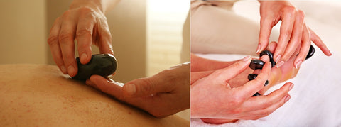 6 CE Hour Stone Massage Hands-on Intro