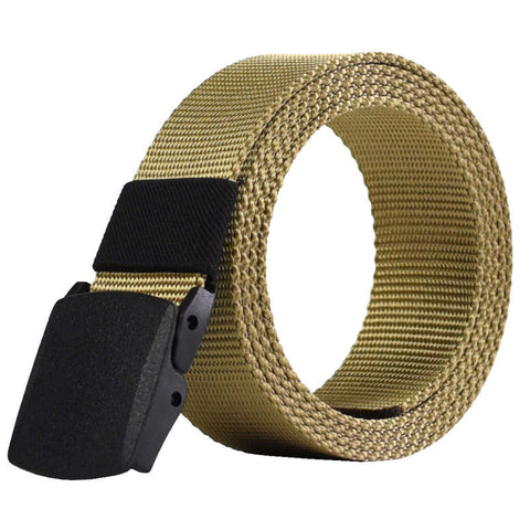 Automatic Buckle Tactical Nylon Belt**** $10 OFF