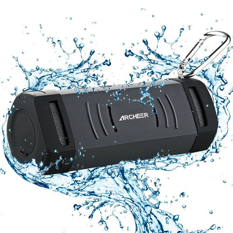 Waterproof  Portable Speaker and Phone Charger