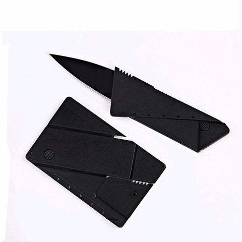 Credit card knife folding knife stainless steel blade Wallet knives survival camping tool tactical mini hand tools pocket knife - JAXSNAP.com