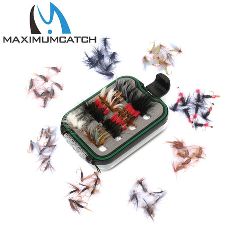 Maximumcatch Fly Fishing Box With 60 Flys