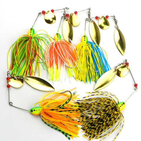 5pcs Spinner Bait Set
