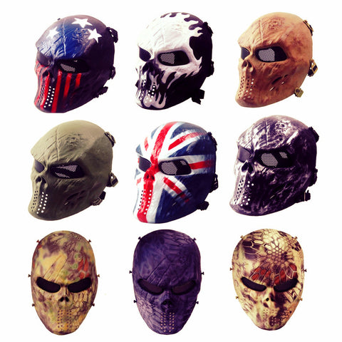 Tactical Full Ghost Face Mask - JAXSNAP.com
