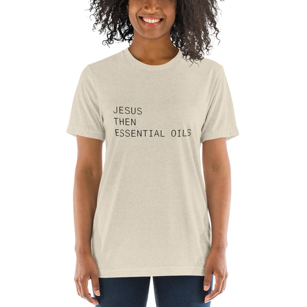 JESUS THEN EOs // Essential Oils Collection, Short sleeve t-shirt (Unisex)