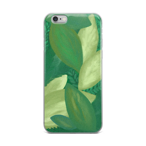 iPhone Case // GREEN LEAVES
