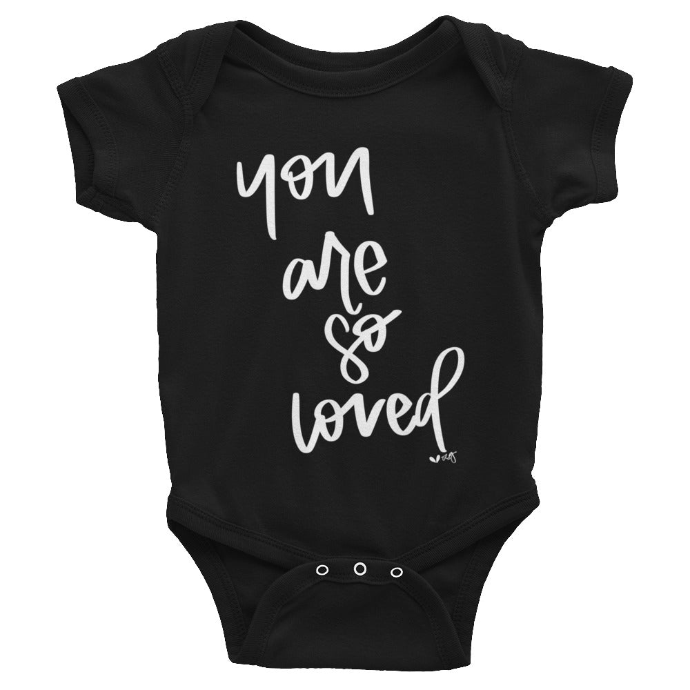 YOU ARE SO LOVED // infant bodysuit onesie