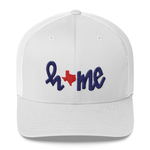 HOME texas // trucker cap WHITE