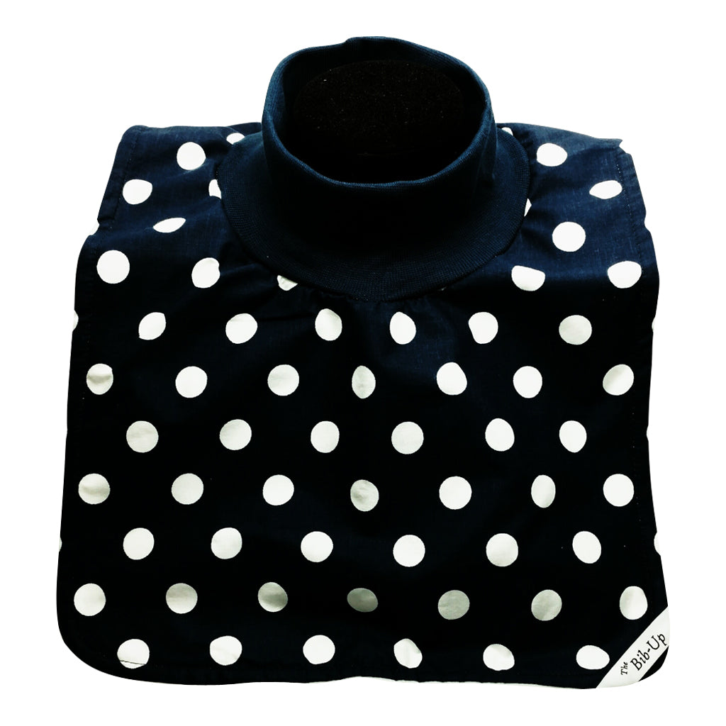 Navy w/White Dots