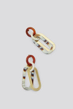 Rachel Comey Sour Earring / Striped Bone