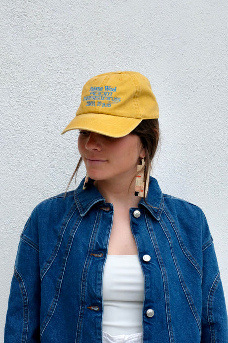 Paloma Wool Happy Hour Sessions Hat / Dark Yellow