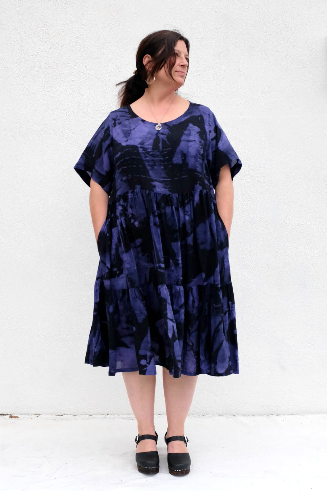 Osei Duro Layer Dress / Rorschach