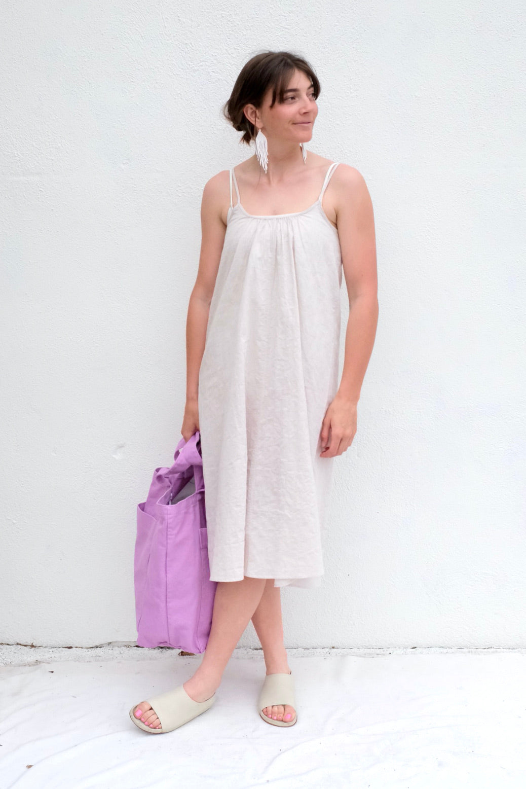 Pietsie Ine Slip Dress / Oat