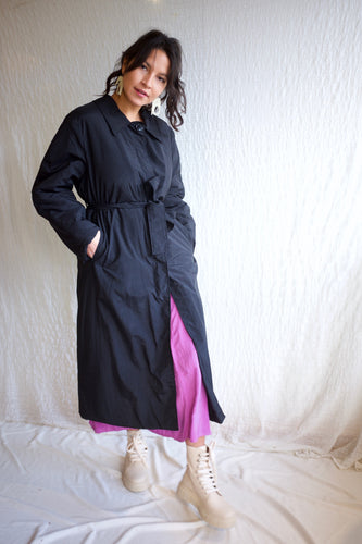 Rita Row Lea Coat / Black