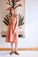 Eve Gravel Marigold Dress / Blush