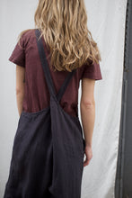 Black Crane Sack Overall / Faded Black