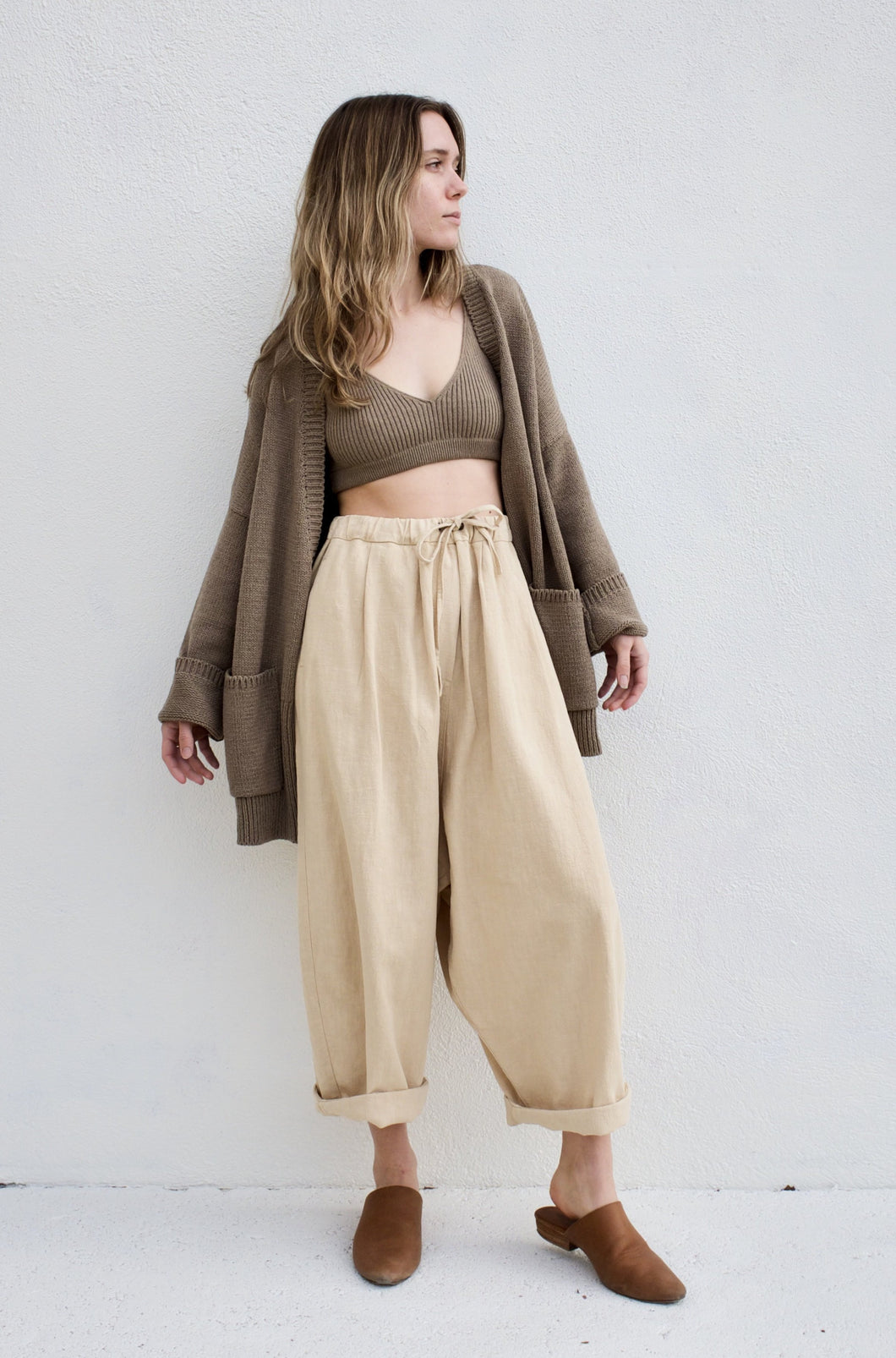 Monica Cordera Maxi Pant / Wheat
