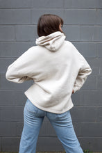 Harlin Mia Oversized Hoodie / Cement