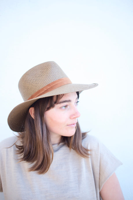 Janessa Leone Alexei Hat / Brown