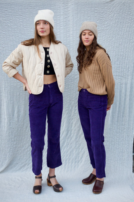 Rita Row Elda Pants / Purple