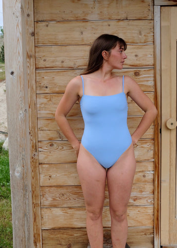Nu Swim Straight One Piece / Periwinkle