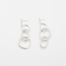 Fay Andrada Moni SM Earrings / Silver