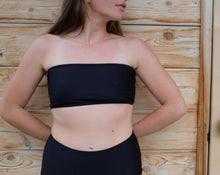 NU Swim Pecorino Top / Black
