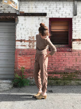 Black Crane Easy Pants / Camel