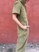 No.6 Freya Coverall / Lime Corduroy