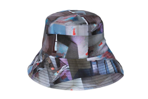 Clyde Ebi Bucket Hat / Maya Beaudry Stair Print