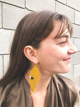 Salihah Moore Fallow Earrings / Brown