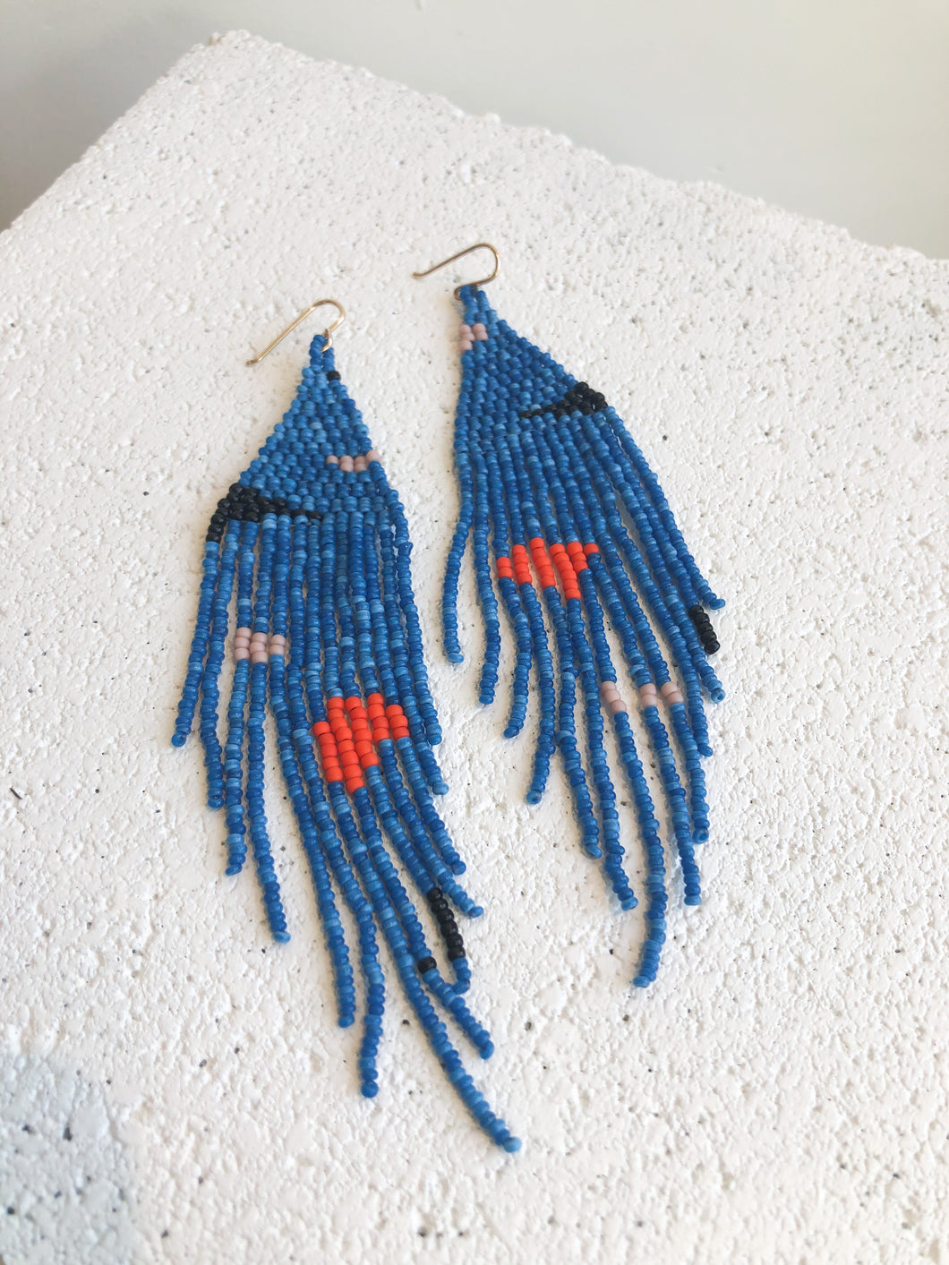 Salihah Moore Miro Earrings / Blue