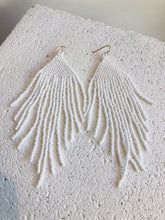 Salihah Moore White Earrings / White