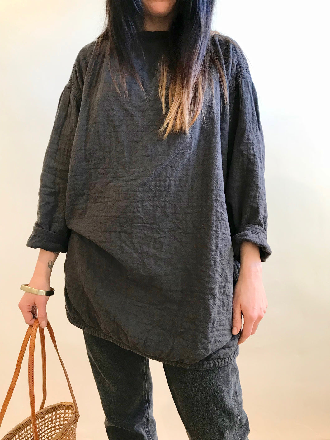 Loose Pullover / Charcoal