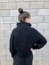 Bare Knitwear Nazca Zip-Up Jacket / Black