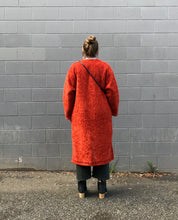 Girls of Dust Liner Coat Spencer Fur / Tangerine