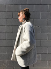 lauren Manoogian Plush Coat / Mica