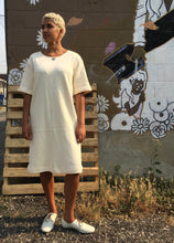 Sunja Link Cream Knit Dress